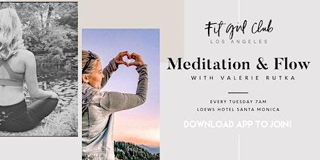 Meditation & Flow at Loews Santa Monica Beach Hotel tickets