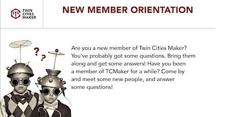 Virtual New Member Orientation tickets