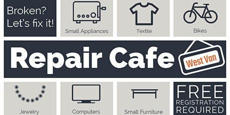 Repair Cafe West Vancouver tickets