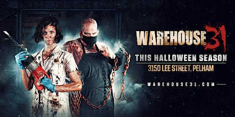 Haunted House - Warehouse31 - 10/02/20 tickets