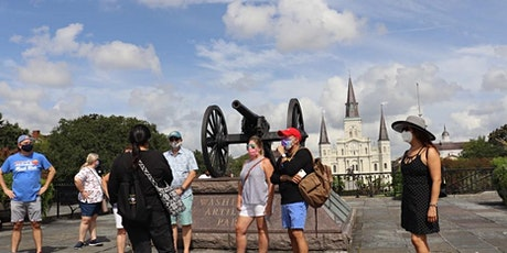 Guided Walking Tour in historical  French Quarter tickets