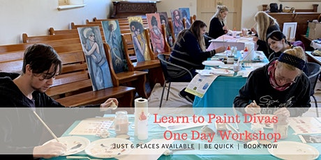 Learn to Paint Divas 1 Day Workshop 22nd Oct 20 tickets