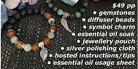 Aromatherapy Bracelet Making Workshop tickets
