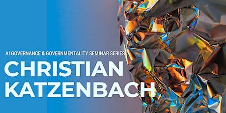Christian Katzenbach Seminar biglietti