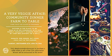 The Very Veggie Affair: A Weekly Community Dinner tickets