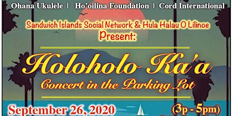 Holo Holo Ka'a - Concert in the Parking Lot tickets