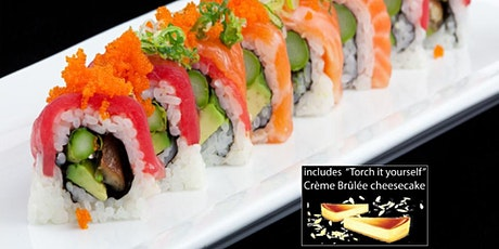 "Cooking Class -""Miso Happy"" Sushi Cooking Class w. DESSERT/SAKE + Sushi Mat tickets"