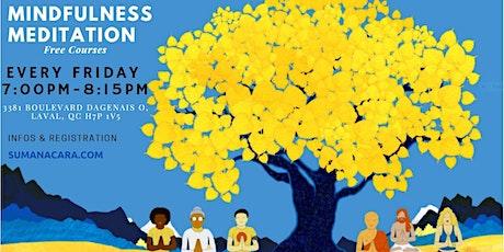 Free Guided Mindfulness & Insight Meditation (Vipassana) tickets