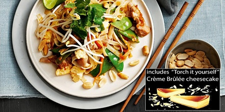 Thai Cooking Class: 'THAI' Something New w wine + Dessert - Philly tickets