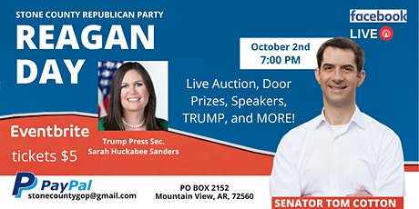Stone County Republican Reagan Day Facebook Live Auction tickets