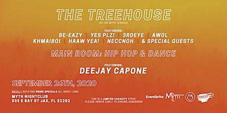 TreeHouse Saturdays at Myth Nightclub | Saturday 09.26.20 tickets