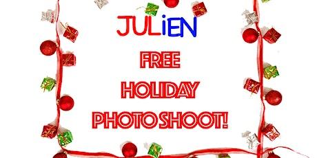 FREE HOLIDAY PHOTO SHOOT tickets