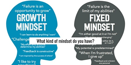 The Growth Mindset: Leaders have it. You need it. bilhetes