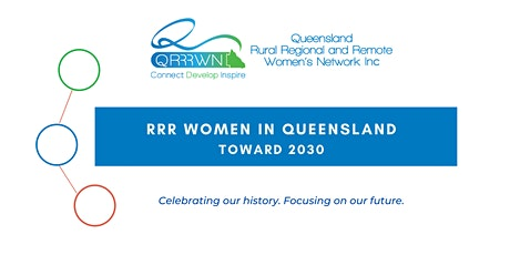 RRR Women in Queensland - Towards 2030. tickets