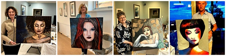 Free The Diva TWO DAY Painting Workshop 27th-28th March 20 21 image