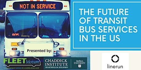 The Future of Transit Bus Services in the US tickets