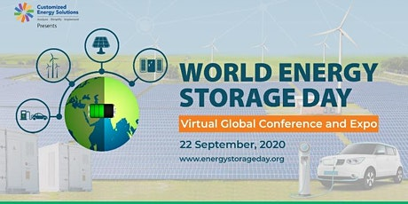 World Energy Storage Day Global Virtual Conference & Expo tickets