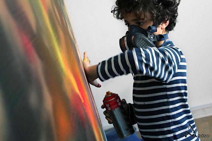Image pour Atelier graff Calligraff avril 2021
