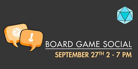 September Board Game Social tickets