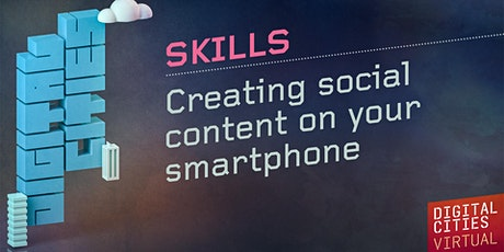 Creating social content on your smartphone tickets