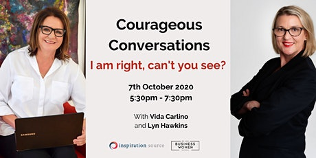 Perth, BWA: Courageous Conversations; I am right, can't you see? tickets