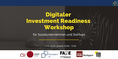 Digitaler Investment Readiness Workshop Tickets