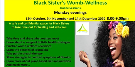 Black Sister's Womb-Wellness Online Sessions tickets