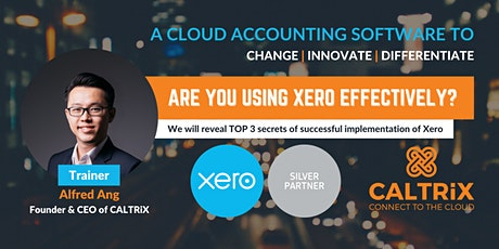 Xero Cloud Accounting Software - Online Training for Xero Users in Malaysia tickets