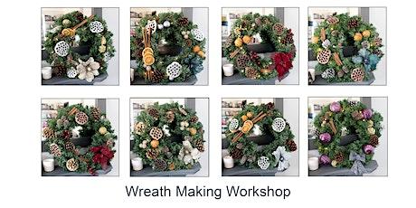 Make a Christmas Wreath Workshop tickets