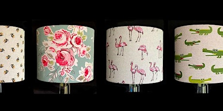 Make your Own No Sew Drum Lampshade tickets