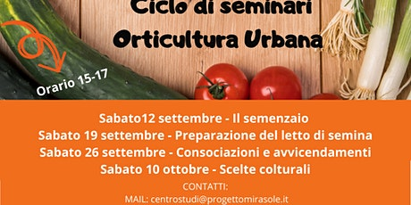 Orticultura urbana: alla scoperta di sementi e coltivazioni #homemade biglietti