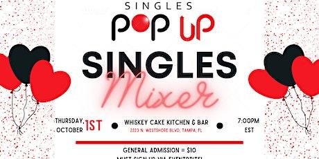 Singles Pop Up Mixer tickets