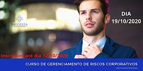 CURSO DE GERENCIAMENTO DE RISCOS CORPORATIVOS ingressos