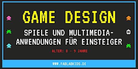 Game-Design - Spiele und Multimedia-Anwendungen für Einsteiger (8-9 Jahre) Tickets