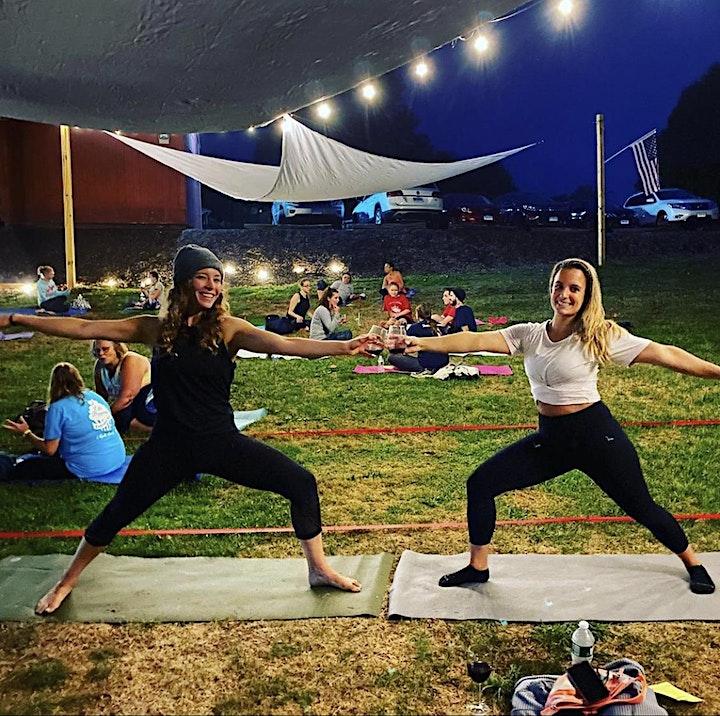 Yoga Night at Arrigoni Winery image