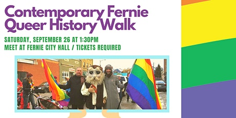 Contemporary Fernie Queer History Walk tickets