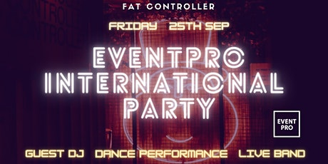 EVENTPRO International Party tickets