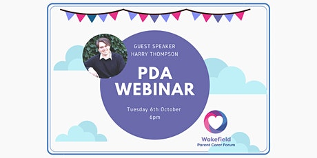PDA Webinar with Guest Speaker Harry Thompson tickets