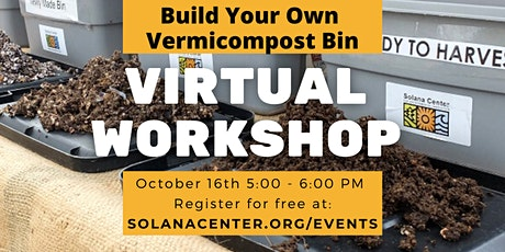 Free Webinar: Build Your Own Vermicomposting Bin tickets