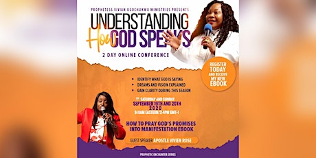Understanding How God Speaks Two Day Online Conference tickets