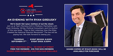 Log Cab in Republican NY Book talk  with Ryan Girdusky tickets