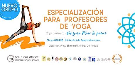 Yoga Dinámico Vinyasa Flow (Argentina) entradas