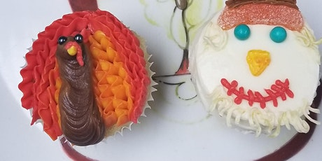Thanksgiving Cupcake Decorating Class tickets
