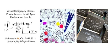 Virtual Modern Calligraphy for Beginners with Lettering By Liz tickets