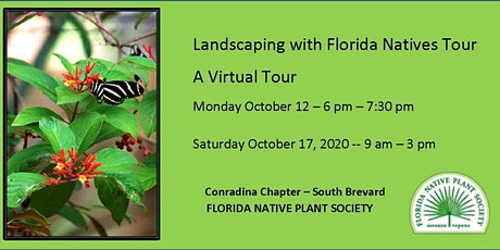 The 11th Annual Landscaping with Florida Natives Tour tickets
