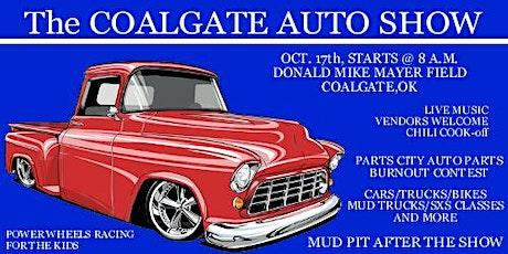 Coalgate Auto Show tickets