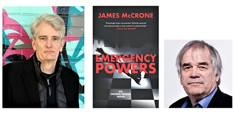 Book Launch: EMERGENCY POWERS by James McCrone tickets