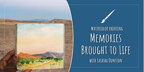 Watercolor Painting: Memories Brought to Life (Includes 2 classes)