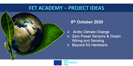 FET Academy: Arctic Climate Change | Zero Power Sensors & Ocean Wiring tickets