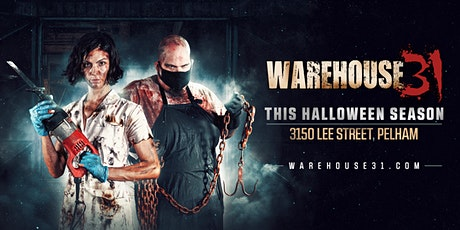 Haunted House - Warehouse31 - 10/22/20 tickets